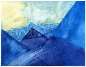 Blue-Origami
