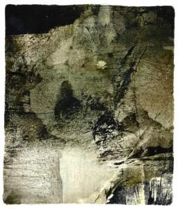 Buddha-in-Stone transfer print