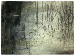Surface Tension transfer print Greenlake