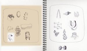 Sketchbook, signs and symbols