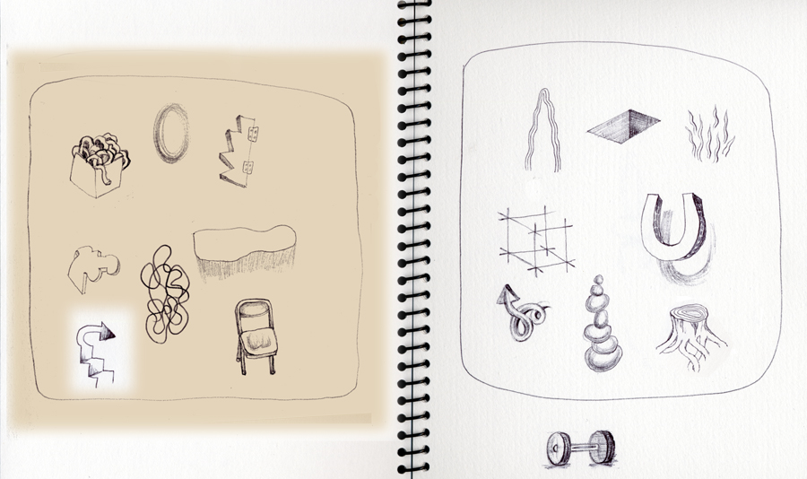 Sketchbook, signs and symbols
