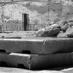 Landscape With Concrete Forms
