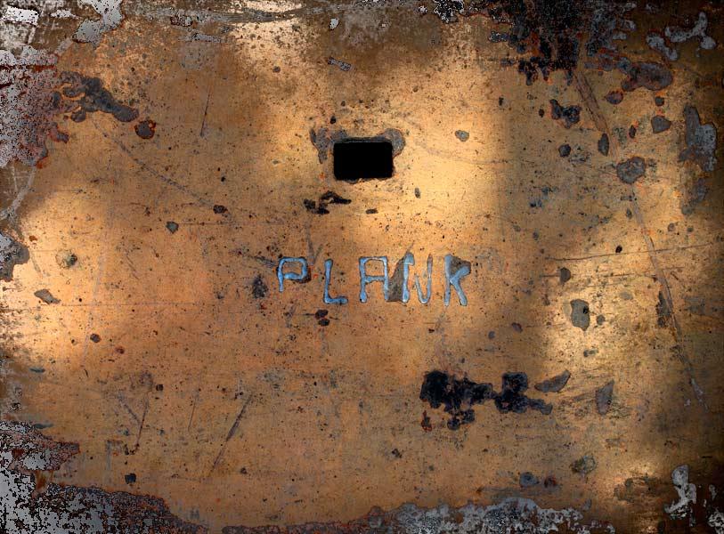 Construction Site Plank Photograph