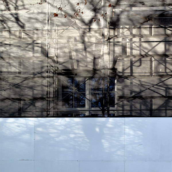 Shadow and Scaffold 2 (Blue)