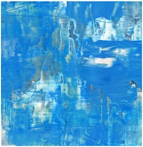 The Blue Day -- SilkscreenPainting