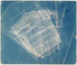 Origami_Cage_Cyanotype