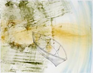 Adrift_mixed media drawing