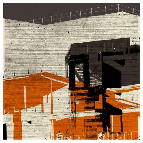 Site Study 6 (Stadium), Archival Pigment Print on Pictorio Unruyu