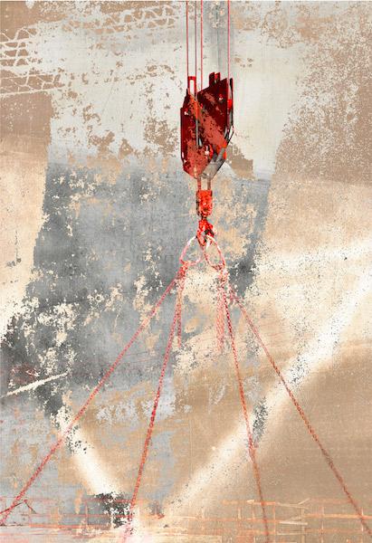 Suspension, archival pigment print by Iskra Fine Art