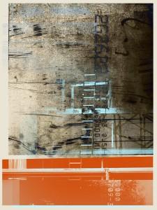 "ViktoriaViktoria, Digital Mixed Media Collage, 18"" x 24"""