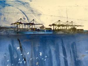 The Maersk Line Archival Print Iskra
