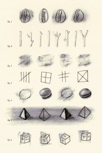 The History Of Counting Charcoal Drawing