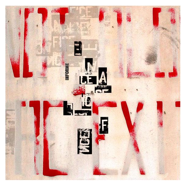 EXIT/NoExit, experimental typography