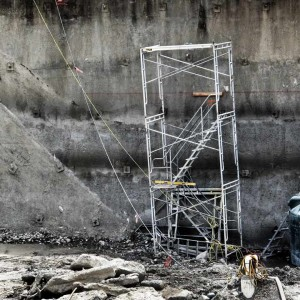 The Elegant Scaffold Construction Site Photograph