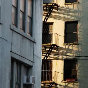 Manhattan Fire Escapes Morning