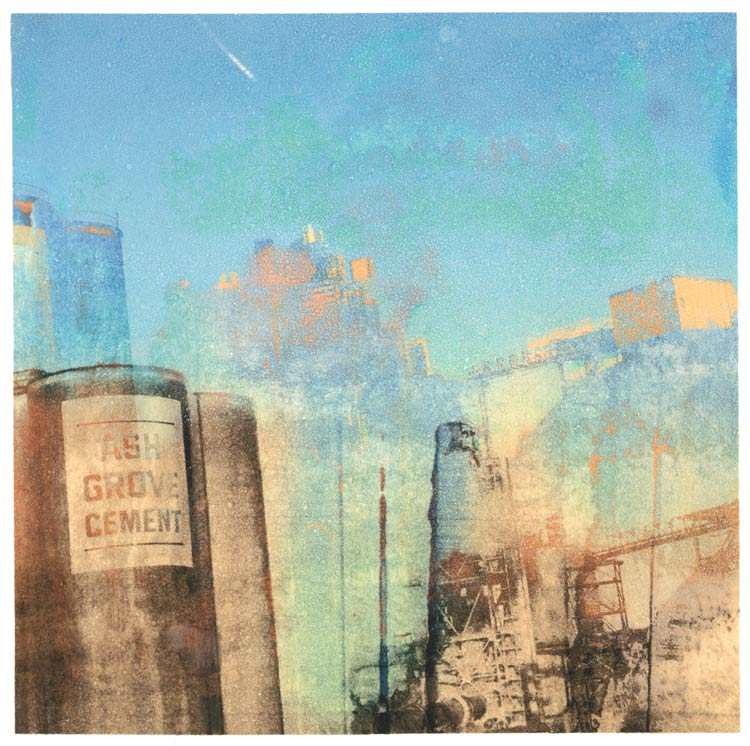 Ash Grove Cement (For Maxfield Parish) transfer print