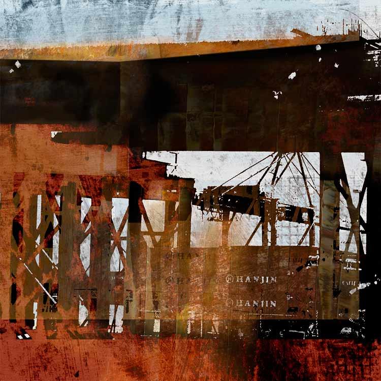 Drive By At Dusk The Port arachival pigment print