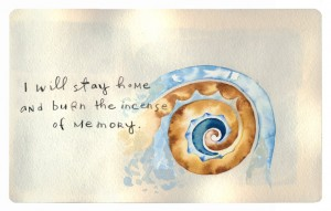 Shell With Memory_watercolor
