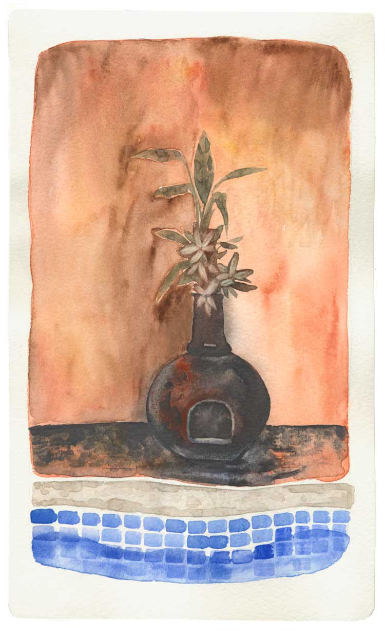 The Mexican Vase_Watercolor
