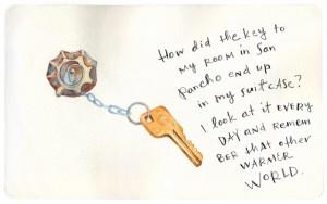 The Beach Key_Watercolor
