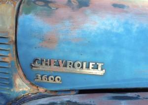 Old Chevy Wabi-Sabi