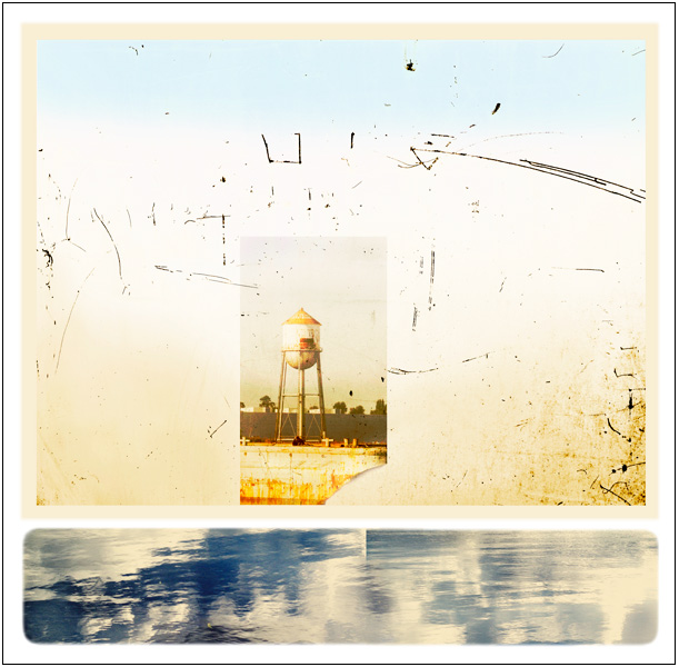 Duwamish Water Tower Digital Etching