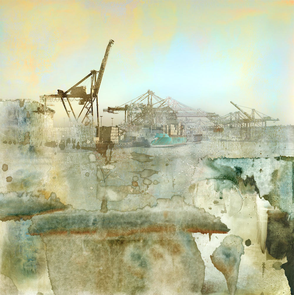 """""""Celadon"""" limited edition industrial print by Iskra"""