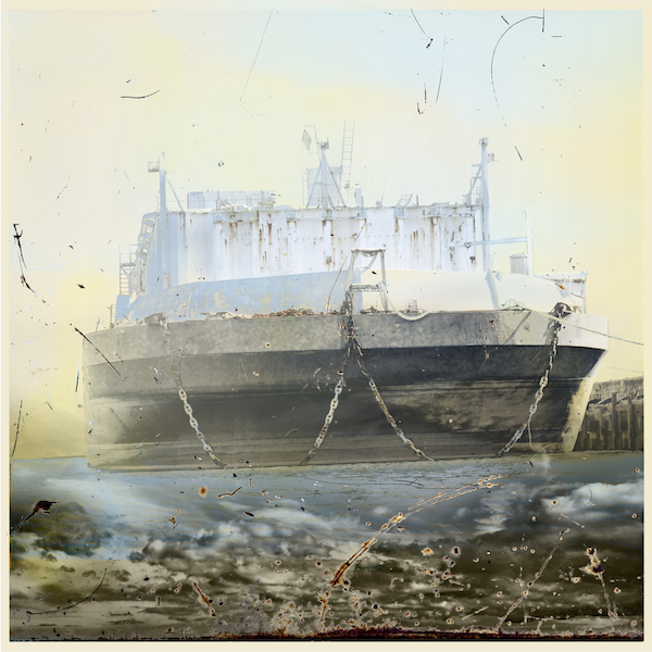 Dream Ship, Archival Pigment Print, Iskra