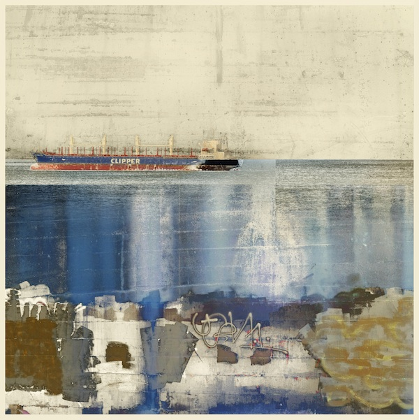 The Shipping Lanes, Archival Pigment Print by Iskra