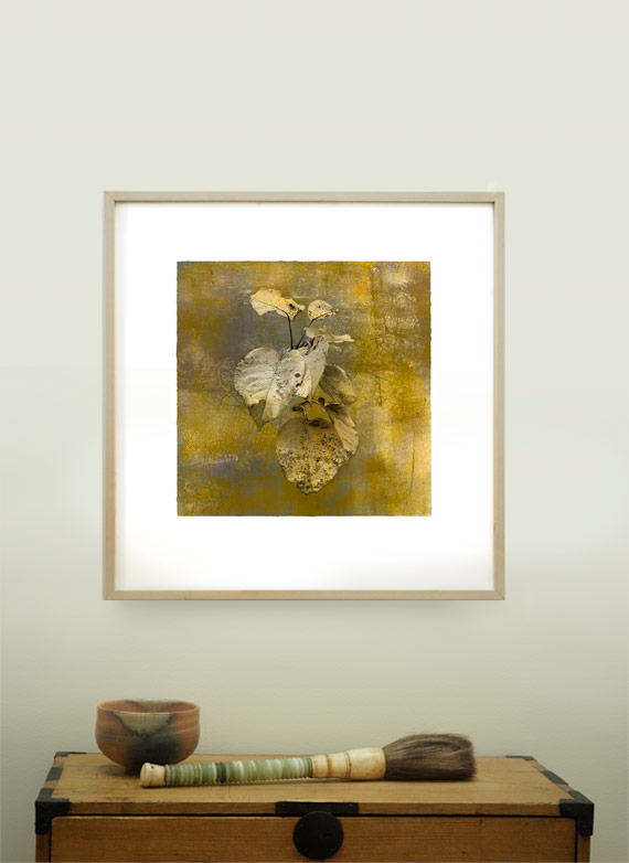 Art in interiors. A print of my beloved Japanese Pear Apple.