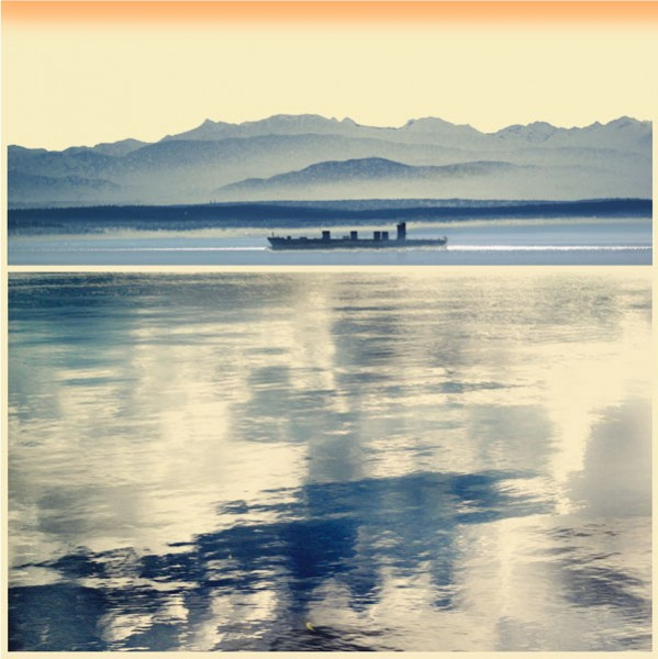 """Passage"" fine art print, inspired by Ebey's Landing, by Iskra Johnson"