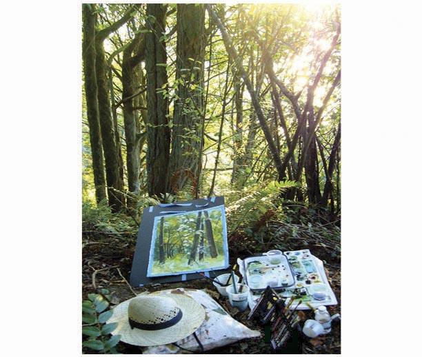 Jennifer Carrasco watercolor classes