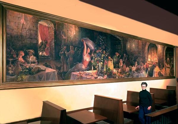 Palace Kitchen Mural, Jennifer Carrasco