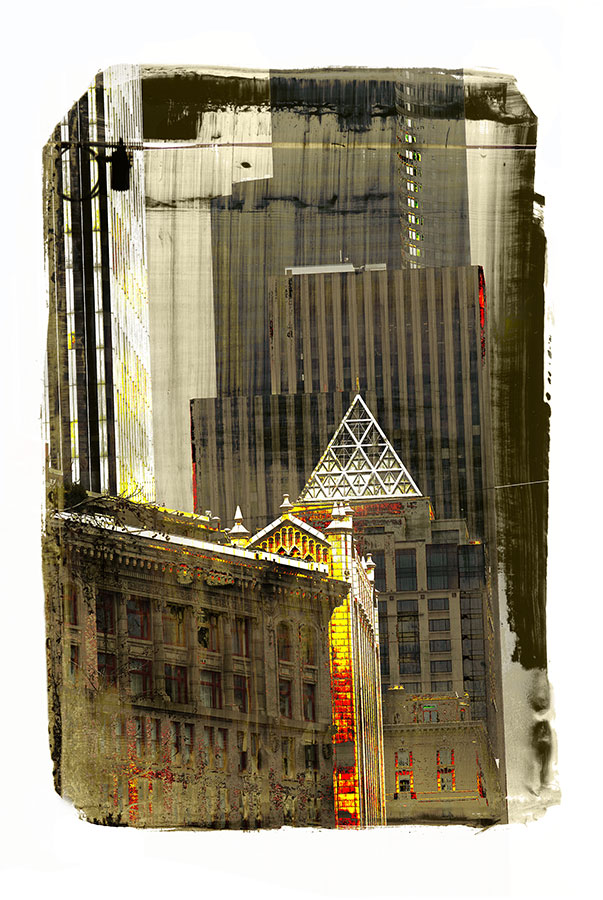 Cityscape Print by Iskra