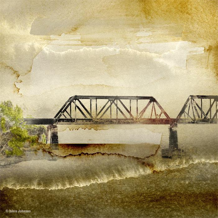Dream Bridge, Morning By Iskra Johnson