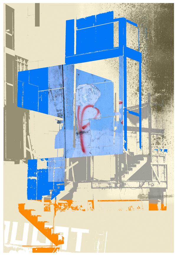 High-Rise Mitigation Plan, © Iskra Johnson, archival pigment print