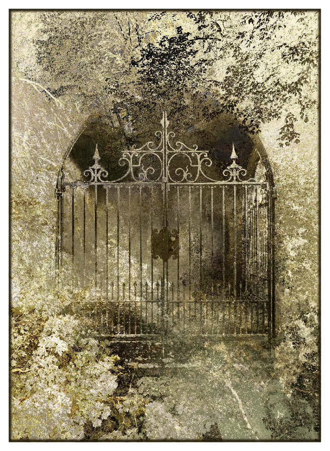 Il Cancello (The Gate) Limited edition Print by Iskra