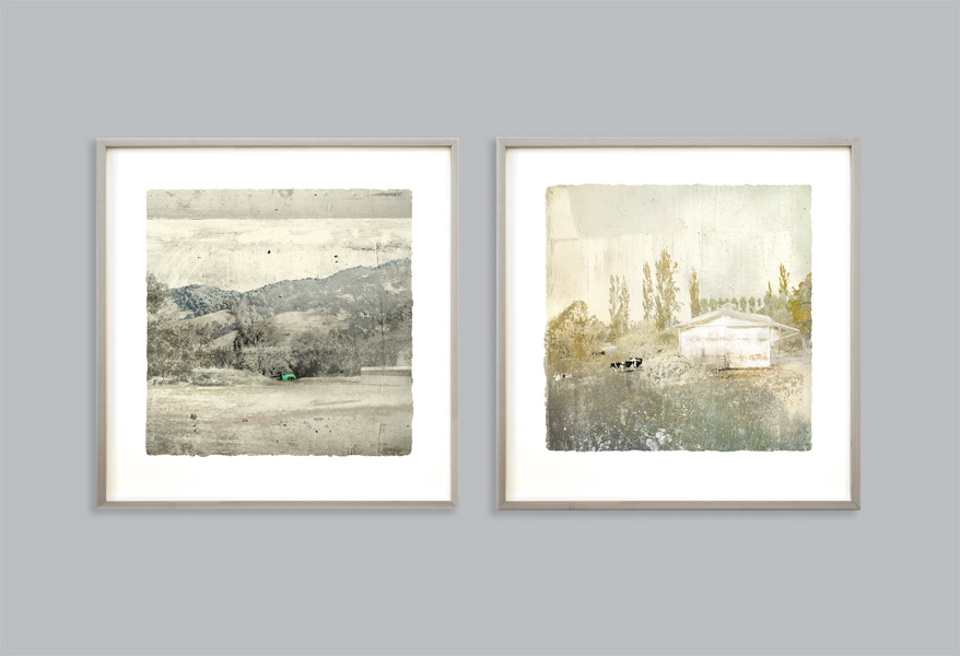 Two Rural Landscapes, Iskra Fine Art Prints