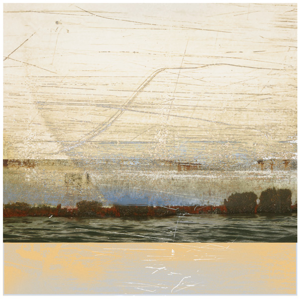 Water Etching Archival Print by Iskra Fine Art