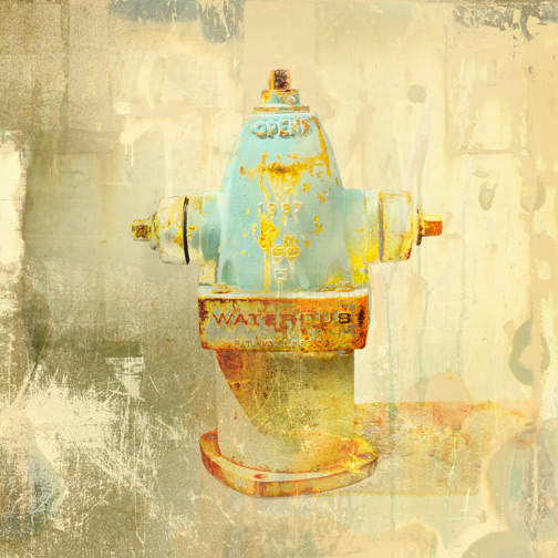 Waterous 2 Hydrant Art by Iskra