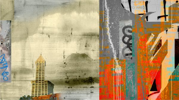 View Corridor, archival pigment print by Iskra Johnson