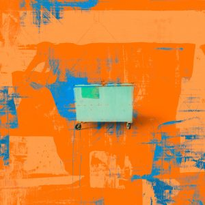 For People who Like Orange, industrial art print by Iskra