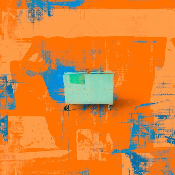 For People who Like Orange, industrial art print by Iskra