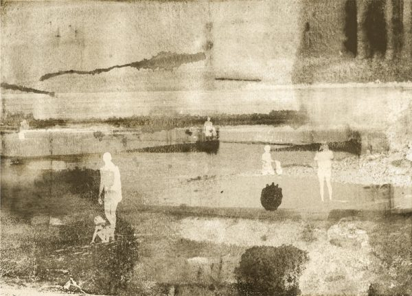 Bathers Yucatan Iskra Fine Art Print