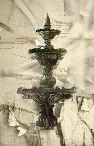 The Fountain Iskra Fine Art Print