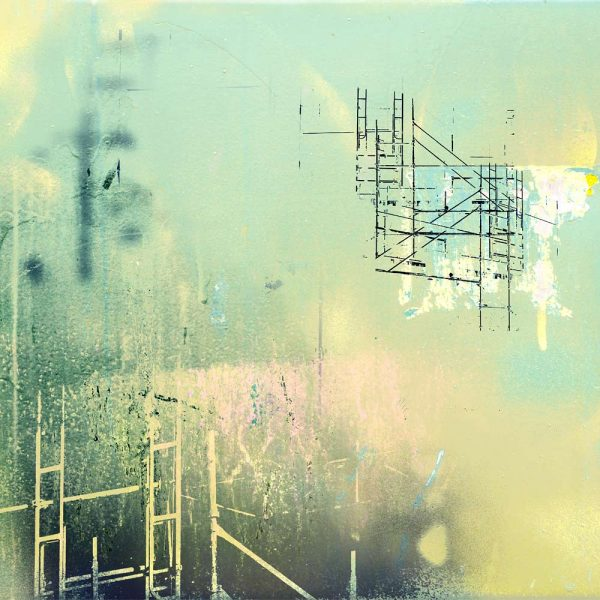 Scaffold Dream print by Iskra