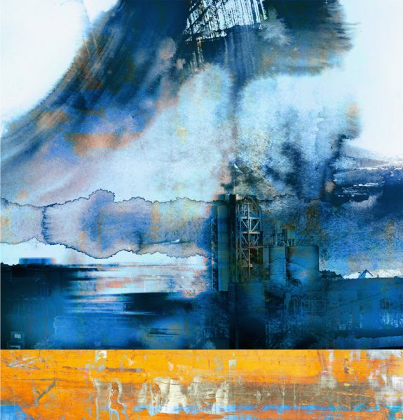 Ash Grove in Blue, by Iskra Johnson, SAM Gallery