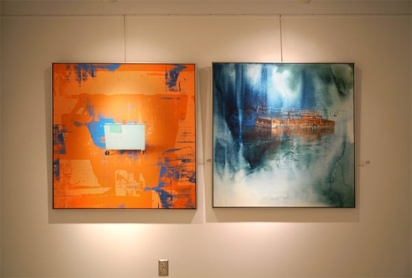 Iskra Industrial art at SAM Gallery