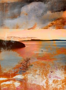 Lake Country Elegy print by Iskra