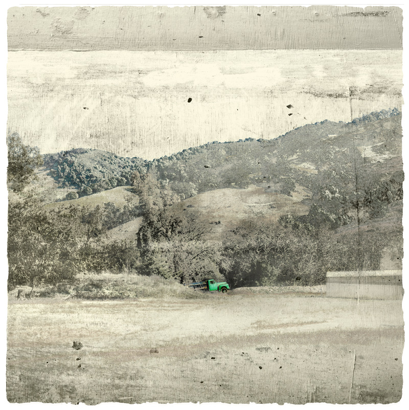 Potter Valley Print limited edition print by Iskra